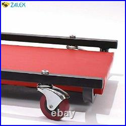 BIG RED TR6452 Torin Rolling Garage/Shop Creeper 40 Padded Mechanic Cart with