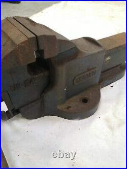 RECORD No24 QUICK RELEASE ENGINEERS MECHANIC BENCH VICE GARAGE SHED WORKSHOP GWO