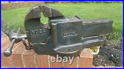 RECORD No24 QUICK RELEASE ENGINEER/MECHANIC BENCH VICE GARAGE SHED WORKSHOP TOOL