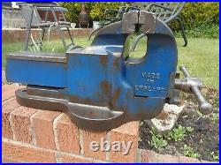 RECORD No25 LARGE ENGINEERS/MECHANIC BENCH VICE GARAGE SHED OR WORKSHOP TOOL GWO