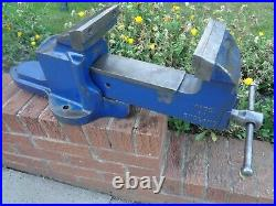 RECORD No25 QUICK RELEASE ENGINEERS/MECHANIC BENCH VICE GARAGE SHED OR WORKSHOP