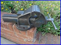 RECORD No34 QUICK RELEASE ENGINEERS/MECHANIC BENCH VICE GARAGE SHED OR WORKSHOP