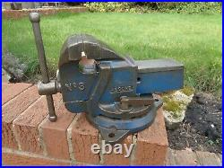 RECORD No3 SWIVEL AND LOCK ENGINEERS/MECHANIC BENCH VICE GARAGE SHED WORKSHOP
