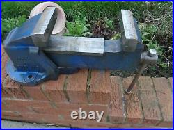 RECORD No5 HEAVY DUTY ENGINEERS/MECHANIC BENCH VICE GARAGE SHED WORKSHOP TOOL