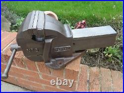 RECORD No6 ENGINEERS MECHANICS BENCH VICE HEAVY DUTY GARAGE SHED WORKSHOP TOOL