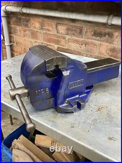 RECORD No6 LARGE 6ENGINEERS/MECHANICS BENCH VICE GARAGE SHED WORKSHOP