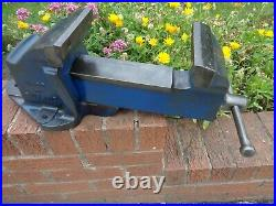 RECORD No6 LARGE ENGINEERS/MECHANICS BENCH VICE GARAGE SHED OR WORKSHOP TOOL