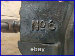 RECORD No6 LARGE ENGINEERS/MECHANIC BENCH VICE GARAGE SHED OR WORKSHOP TOOL GWO