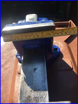 RECORD No 111 HEAVY DUTY ENGINEERS/MECHANIC BENCH VICE GARAGE SHED WORKSHOP TOOL