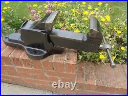 RECORD No 24 QUICK RELEASE LARGE ENGINEERS/MECHANIC BENCH VICE GARAGE WORKSHOP