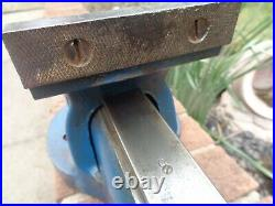 RECORD No 34 QUICK RELEASE ENGINEERS/MECHANIC BENCH VICE GARAGE SHED OR WORKSHOP