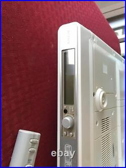 SONY ICF-CD553RM Am/Fm Stereo CD KITCHEN Mount CLOCK RADIO Tested WORKS