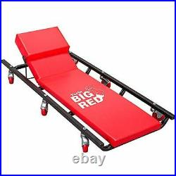 TR6452 Torin Rolling Garage/Shop Creeper 40 Padded Mechanic Cart with